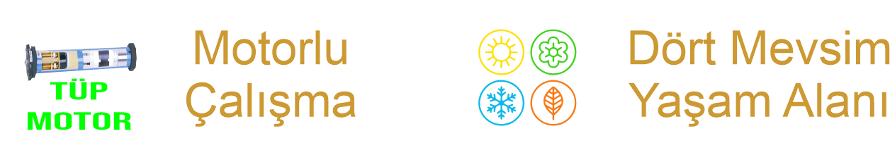 Bioklimatik Motor Seçenekleri