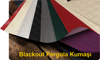 Pergola Blackout Kumaş